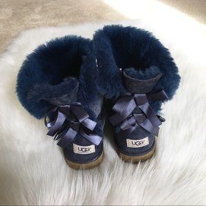 UGG Bailey Bow II Boots Women's Size 5